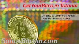 Get Your Bitcoin – Faucet Tutorial