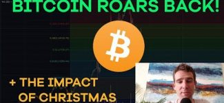 Bitcoin Comes Back! Christmas Impact, Litecoin, McAfee Pumps, Binance, Tax Harvesting – CMTV  Ep113